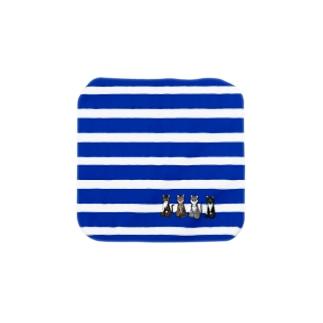 [チャリティ]正座猫チーム(Sサイズ推奨) Towel handkerchiefs