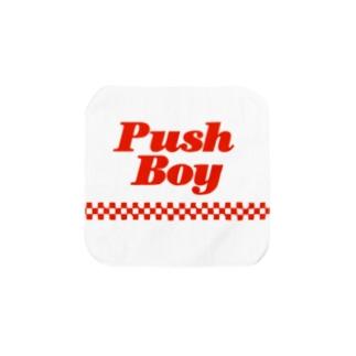 Pushboy Towel handkerchiefs