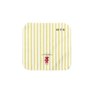 【As it is】(桃くま)Sサイズ Towel handkerchiefs