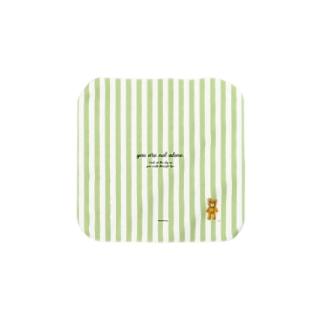 【you are not alone.】(茶くま)Sサイズ Towel handkerchiefs
