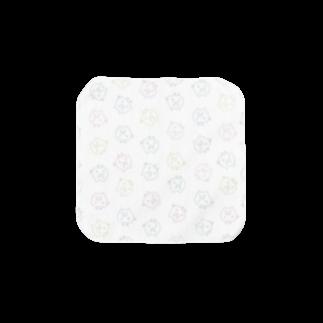 こぶたのカラフルこぶた小 Towel handkerchiefs