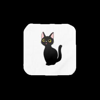 PSYCHの黒猫 Towel handkerchiefs