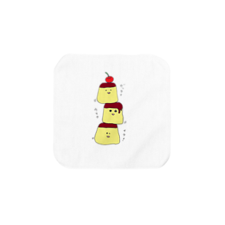ekubostoreのトリオ・ザ・プリン 「ゼッタイウマクイク!」 Towel handkerchiefs