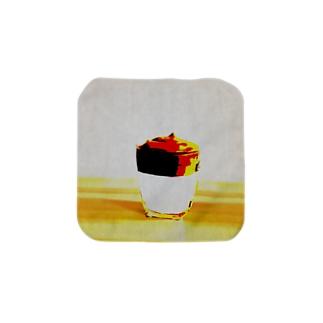 ダルゴナコーヒー Towel handkerchiefs