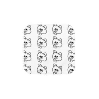 くまのジョセフシリーズ【群れ】 Towel handkerchiefs