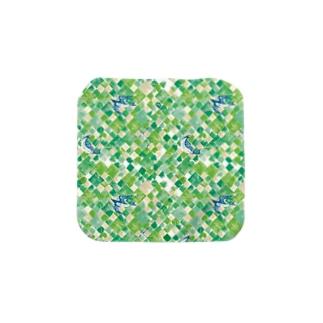 新緑とほととぎす_manyo Towel handkerchiefs