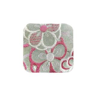 和柄~緑花~ Towel handkerchiefs