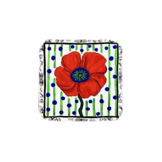 ManaOsawaのポピー ドット Towel handkerchiefs