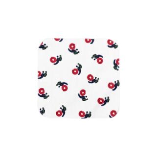 バリ倶楽部ロゴハンカチ Towel handkerchiefs