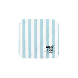 WONDERFUL SETOUCHI BLUE Towel handkerchiefs