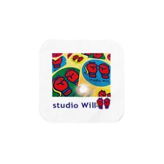 studio Will×INGRIDタオルハンカチS_A Towel handkerchiefs