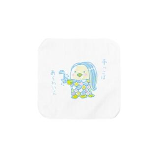 アマビエちゃん【手っこばあらわいん】 Towel handkerchiefs