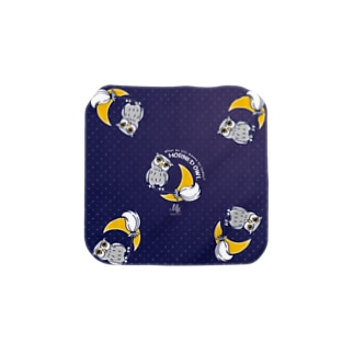 CT72 夜の誘惑 HORNED OWL*F Towel handkerchiefs