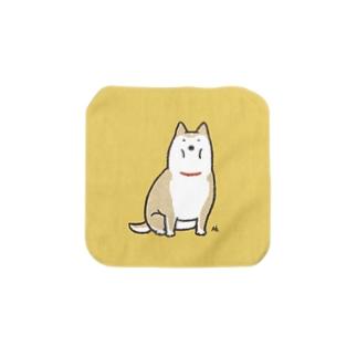 ◆太い犬 Towel handkerchiefs