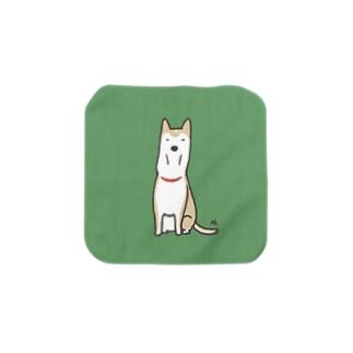 ◆細い犬 Towel handkerchiefs