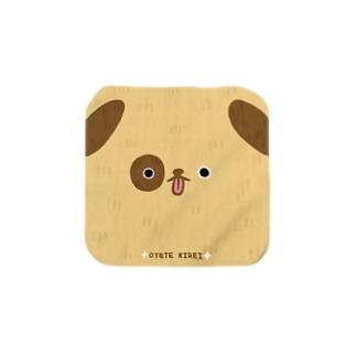 おててきれい犬 Towel handkerchiefs