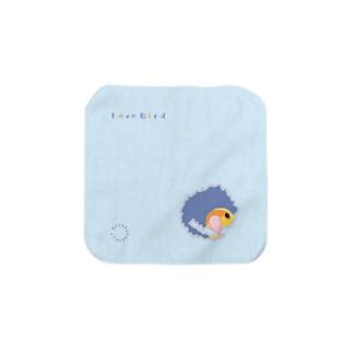 穴あけコザ(オレンジフェイス) Towel handkerchiefs
