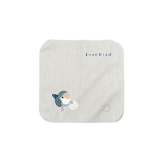 コザクラ・ボール遊び(モーブ) Towel handkerchiefs