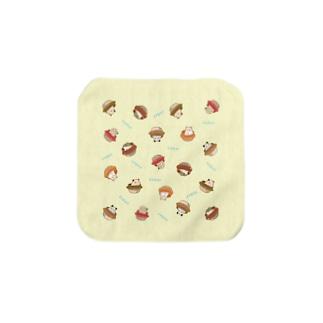 【KAMAP】みんなでバビューン Towel handkerchiefs