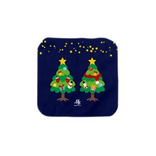CT88 林さんのクリスマスC Towel handkerchiefs