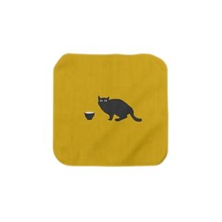 黒猫さん Towel handkerchiefs