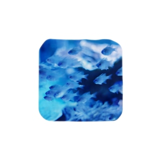 青い世界 Towel handkerchiefs