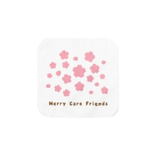 Merry Care Friends さくら Towel handkerchiefs