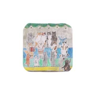 コムギアニマル音楽隊 Towel handkerchiefs