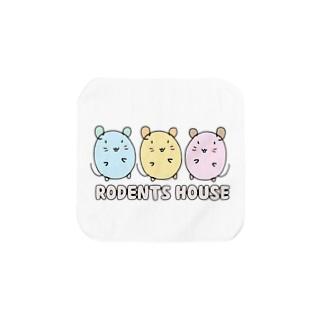 RODENTS HOUSE  Towel Handkerchief