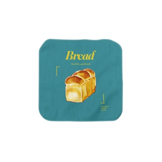 Bread/ターコイズ Towel handkerchiefs
