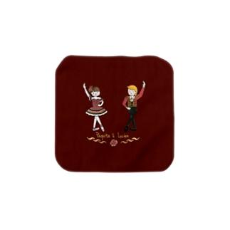 パキータとリュシアン Towel handkerchiefs