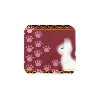 王宮の猫 Towel handkerchiefs