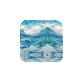 ムース雲の湖 Towel handkerchiefs
