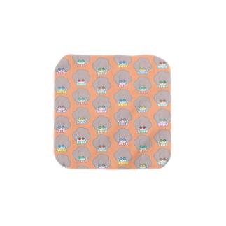 イロメガネナアフロ Towel handkerchiefs