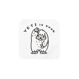 CT104 YETI is yeah*A*ぼく Towel Handkerchief