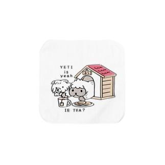 CT112 YETI is yeahの家でお茶 Towel Handkerchief