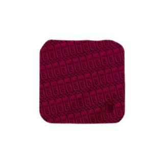 あまびえ∞ハンカチ(赤) Towel handkerchiefs