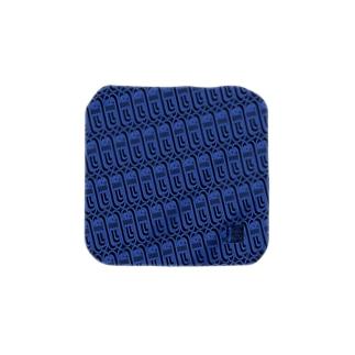 あまびえ∞ハンカチ(青) Towel handkerchiefs