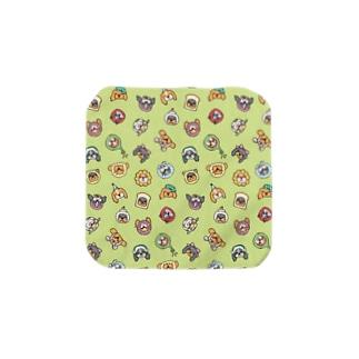 キャバリアスヌードコレクション(薄緑) Towel handkerchiefs