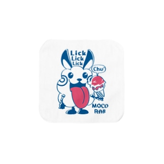 CT123 モコモコラビット1号*Lick Lick Lick Towel handkerchiefs