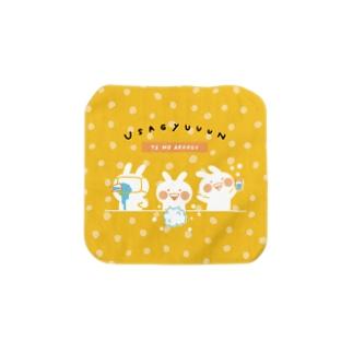 うさぎゅーん!!!てあらいクリーン Towel handkerchiefs