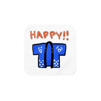 HAPPY!! Towel handkerchiefs