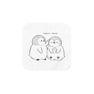 手描きペンギン Towel handkerchiefs