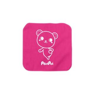見返り美コモモ Towel Handkerchief