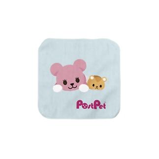 モモとジンパチの休日 Towel Handkerchief