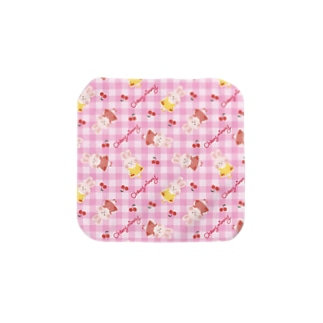 Cherryチェックタオル【cherrymimmy】 Towel handkerchiefs