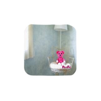 ミニモモ Towel Handkerchief