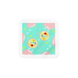 ピンクレモンのナタデコゼリーライフ Towel handkerchiefs