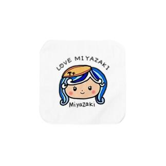 LOVE MIYAZAKI Towel Handkerchief