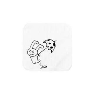 たんさんの落書き Towel handkerchiefs